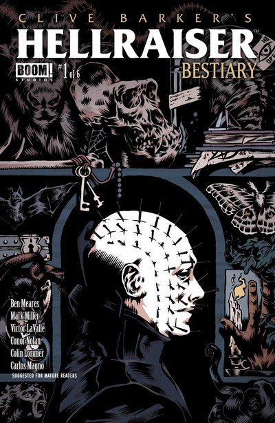 Clive Barker's Hellraiser – Bestiary #1 – 6 (2014-2015)