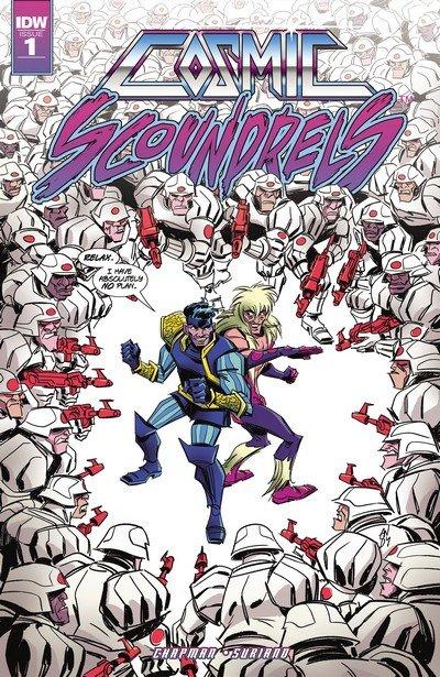 Cosmic Scoundrels #1 – 5 (2017)