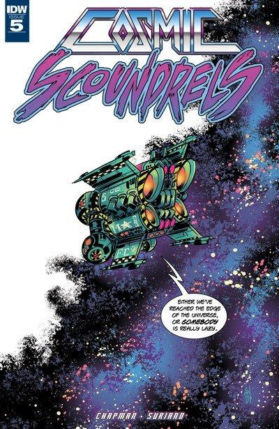 Cosmic Scoundrels #5 (2017)