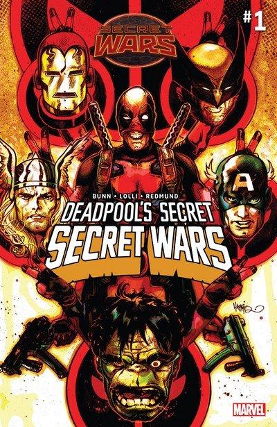 Deadpool's Secret Secret Wars #1 – 4 + TPB (2015)