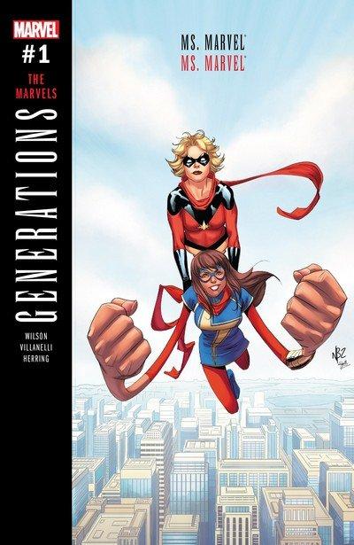 Generations – Captain Marvel & Ms. Marvel #1 (2017)