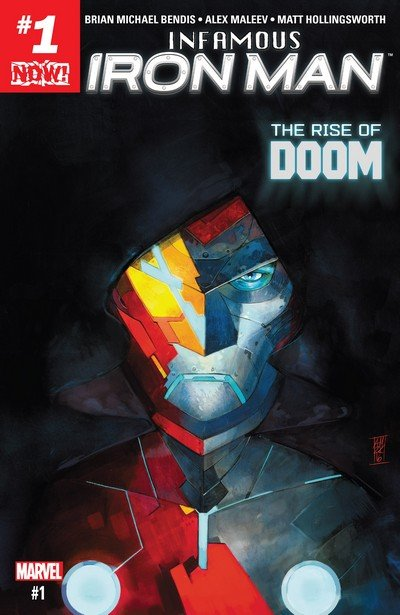 Infamous Iron Man #1 – 12 + TPB Vol. 1 – 2 (2016-2017)