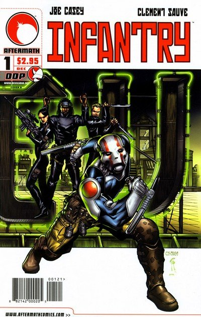 Infantry #1 – 4 (Devil's Due) (2004-2005)