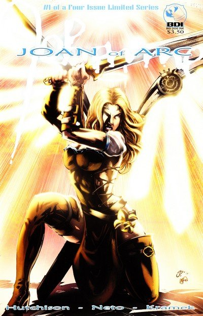 Joan of Arc – From the Ashes Vol. 1 #1 – 4 (2012-2013)