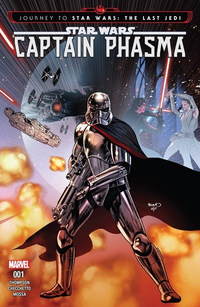 Journey to Star Wars – The Last Jedi – Captain Phasma #1 (2017)
