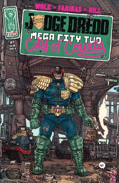 Judge Dredd – Mega-City Two #1 – 5 + TPB (2014)
