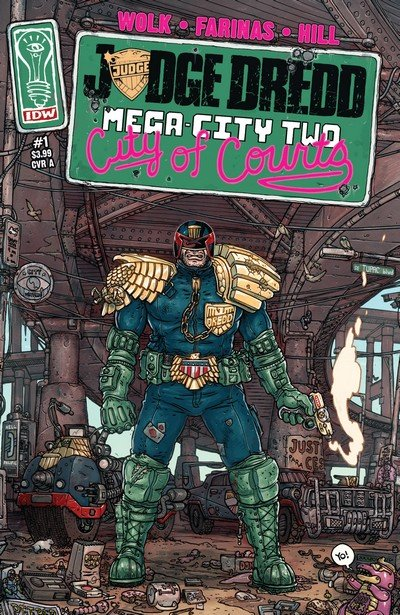 Judge Dredd – Mega-City Two #1 – 5 + TPB (2014)