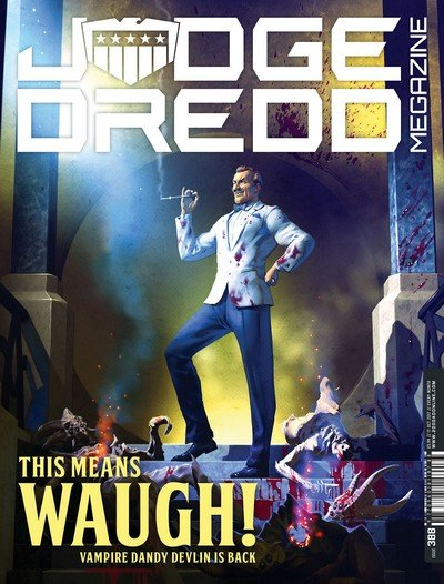 Judge Dredd Megazine #388 (2017)