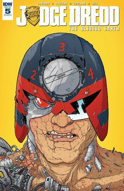 Judge Dredd – The Blessed Earth #5 (2017)