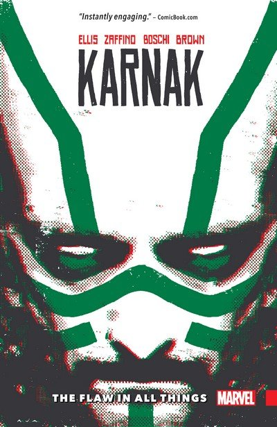 Karnak – The Flaw in All Things (TPB) (2017)