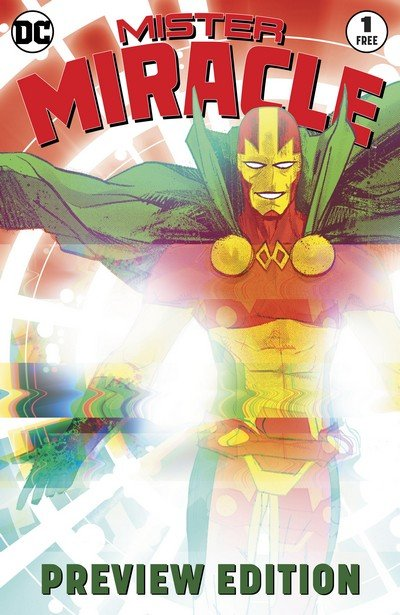 Mister Miracle #1 Extended Preview (2017)