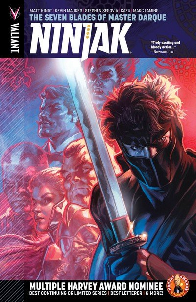 Ninjak Vol. 6 – The Seven Blades of Master Darque (2017)