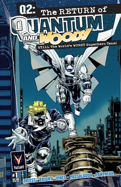 Q2 – The Return of Quantum and Woody #1 – 5 (2014-2015)