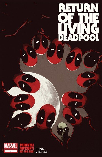 Return of the Living Deadpool #1 – 4 + TPB (2015)