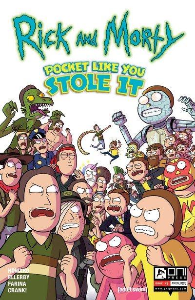 Rick and Morty – Pocket Like You Stole It #3 (2017)