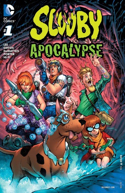 Scooby Apocalypse #1 – 17 (2016-2017)