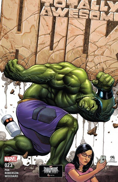 The Totally Awesome Hulk #23 (2017)