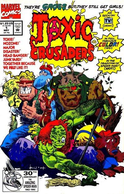 Toxic Crusaders #1 – 8 (1992)