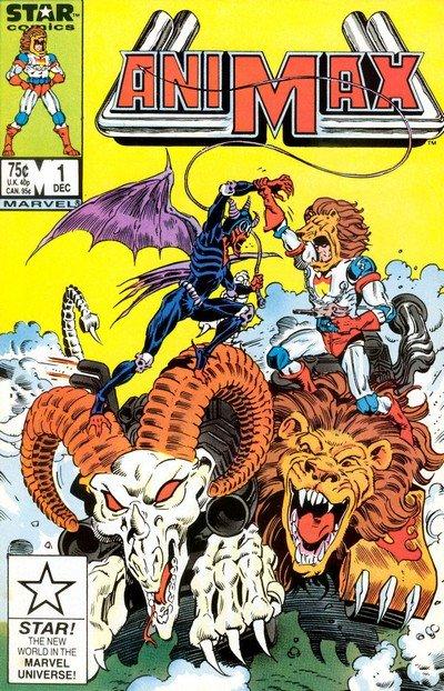 Animax #1 – 4 (1986-1987)