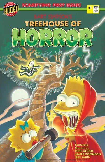 Bart Simpson's Treehouse of Horror #1 – 23 (1995-2017)