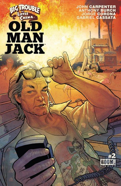 Big Trouble In Little China Old Man Jack #2 (2017)