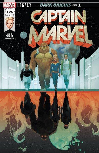 Captain Marvel Vol. 7 #125 – 129 (2017-2018)