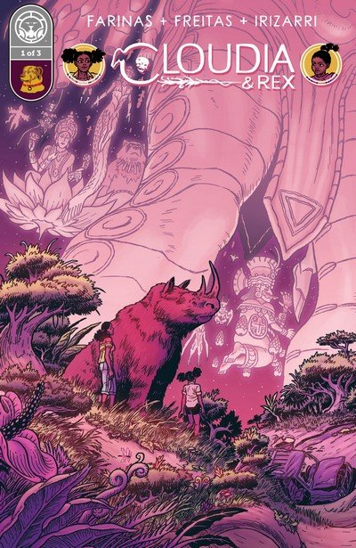 Cloudia and Rex #1 – 3 (2017)