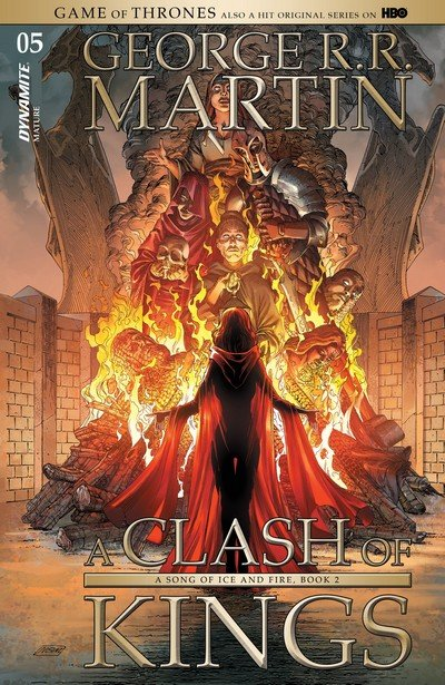 George R.R. Martin's A Clash of Kings #5 (2017)