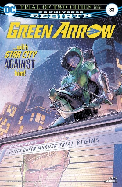 Green Arrow #33 (2017)