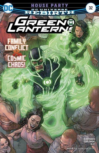 Green Lanterns #32 (2017)