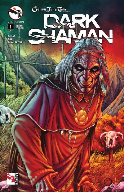 Grimm Fairy Tales presents Dark Shaman #1 – 4 (2014-2015)
