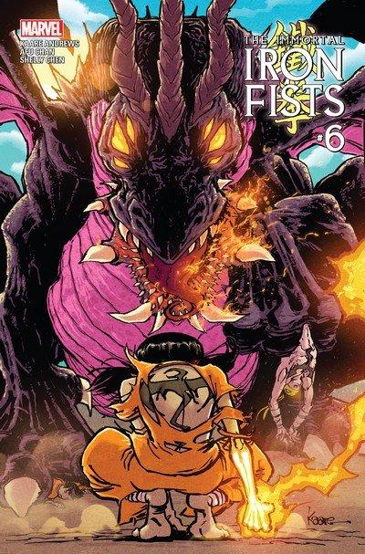 Immortal Iron Fists #6 (2017)