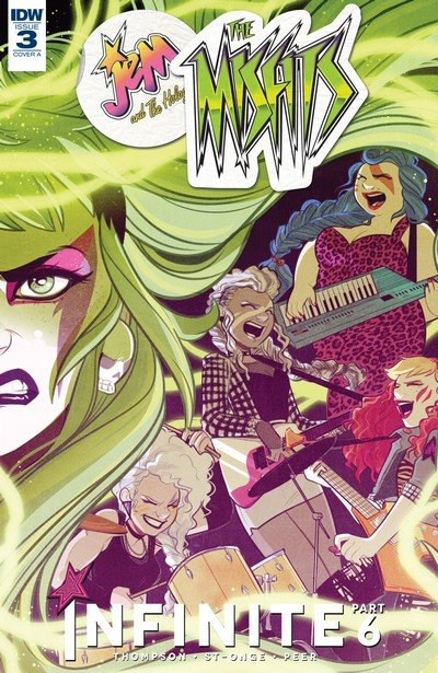 Jem and the Holograms – The Misfits – Infinite #3 (2017)