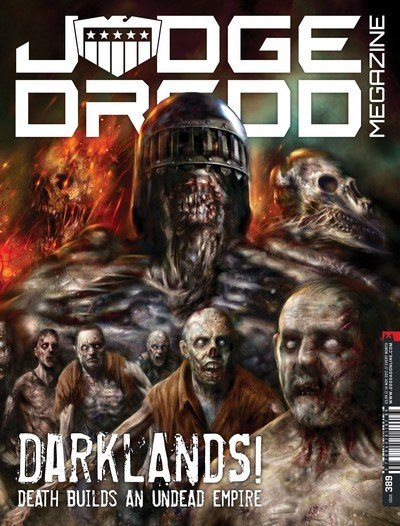Judge Dredd Megazine #389 (2017)