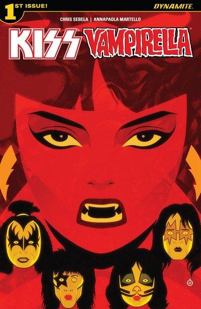 KISS – Vampirella #1 – 5 (2017)
