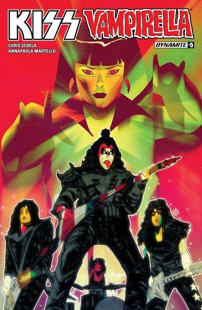 Kiss – Vampirella #5 (2017)