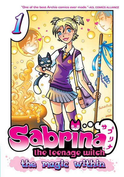 Sabrina the Teenage Witch – The Magic Within Vol. 1 – 4 (TPB) (2013-2014)