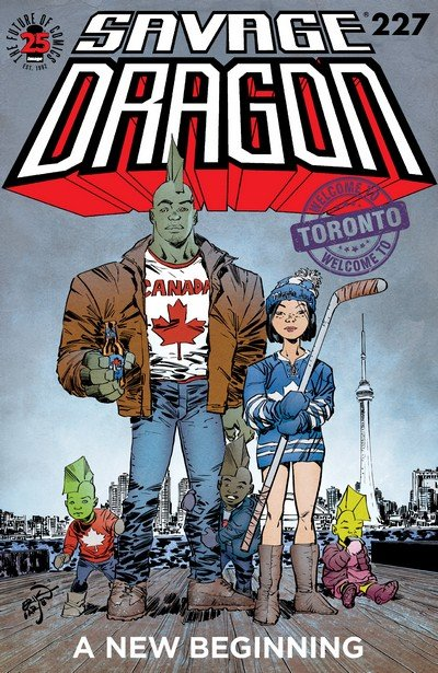Savage Dragon #227 (2017)