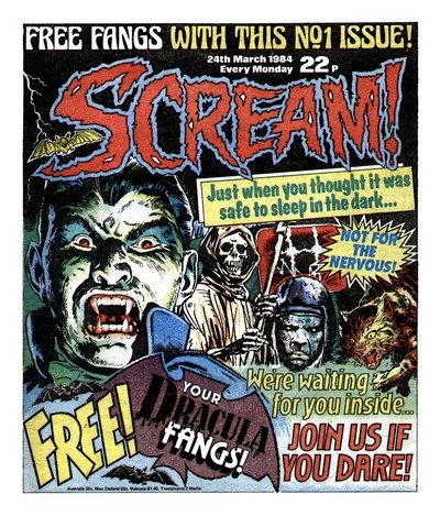 Scream #1 – 15 + Holiday Special (1984-1989)