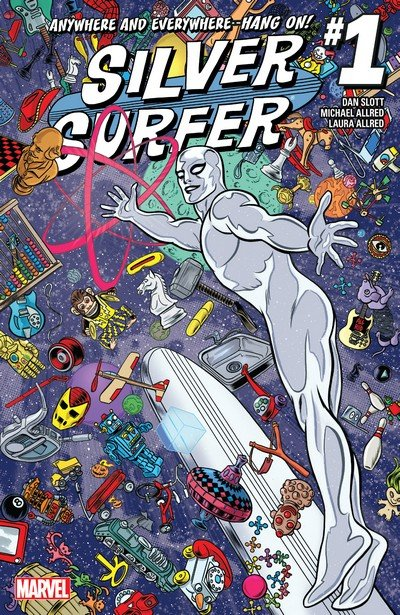 Silver Surfer #1 – 14 (2016-2017)