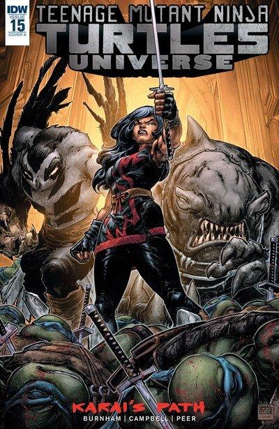 Teenage Mutant Ninja Turtles Universe #15 (2017)