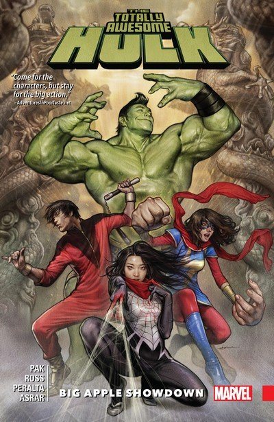 The Totally Awesome Hulk Vol. 3 – Big Apple Showdown (TPB) (2017)