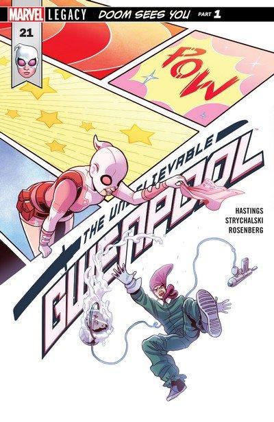 GWENPOOL UNBELIEVABLE #18 MARVEL COMICS SEPTEMBER 2017