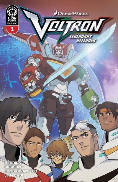 Voltron – Legendary Defender Vol. 2 #1 (2017)
