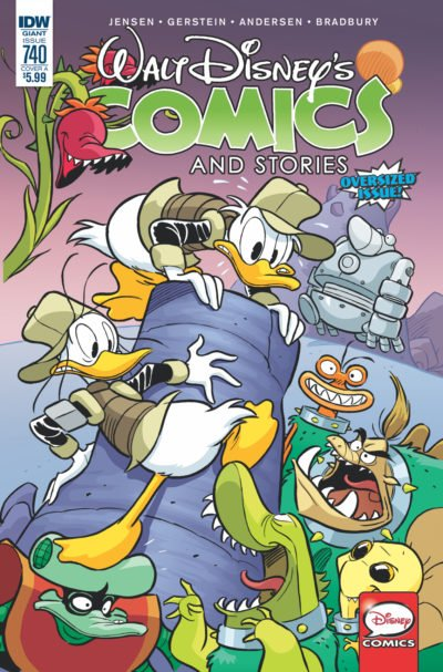 Walt Disney's Comics and Stories #740 (2017)