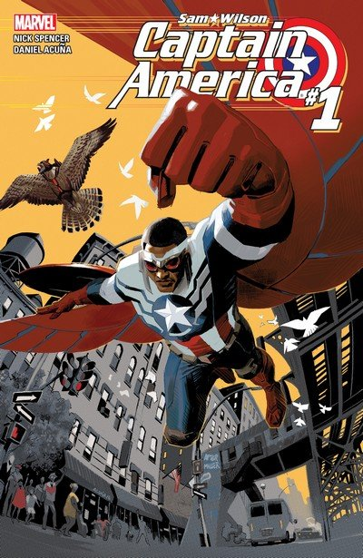 Captain America – Sam Wilson #1 – 24 + TPB Vol. 1 – 4 (2015-2017)