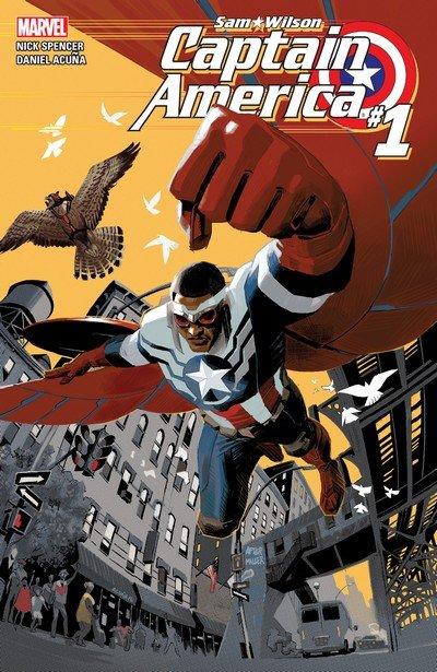 Captain America – Sam Wilson #1 – 24 + TPB Vol. 1 – 4 (2015-2017)