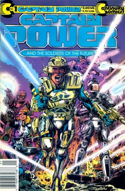 Captain Power and the Soldiers of The Future #1 – 2 (1988-1989)