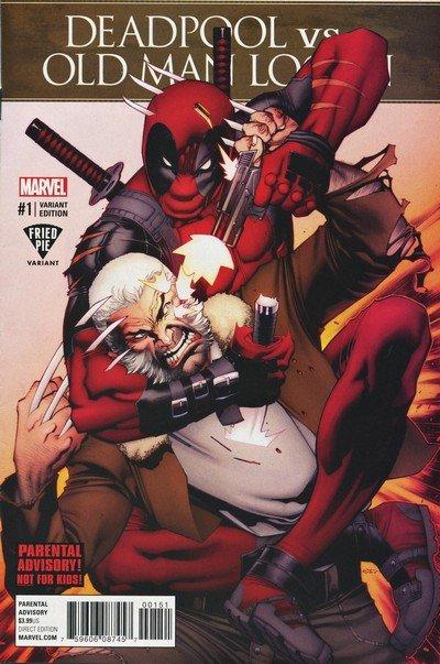 Deadpool Vs. Old Man Logan #1 – (Fried Pie Variant) (2017)