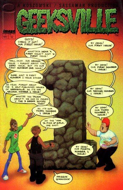 Geeksville Vol. 2 #0 – 4 (2000)
